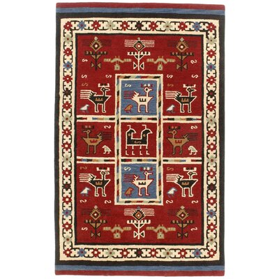 St. Croix Traditions Tribal Burgundy Rug