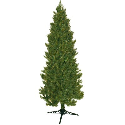 7' Green Slim Spruce Artificial Christmas Tree