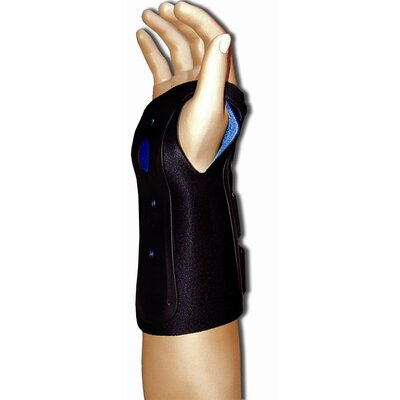Bell-Horn Ortho Armor Wrist Immobilizer in Black / Blue