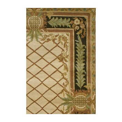 American Home Rug Co. Palm Beach Pineapple Aubusson Novelty Rug