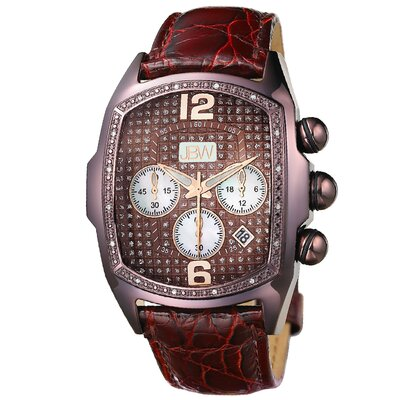 Men's Ceasar Watch in Burgundy