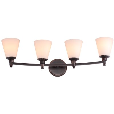 DVI Georgetown 4 Light Bath Vanity Light