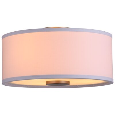 Milan 3 Light Flush Mount