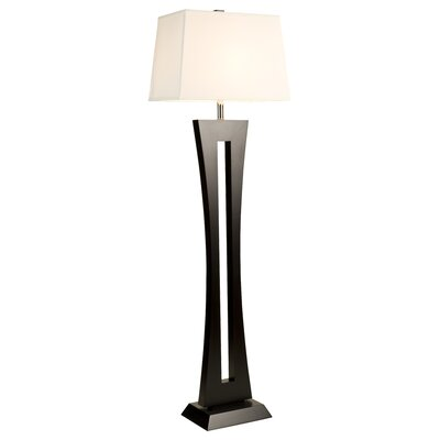 DVI Urban Living Floor Lamp in Espresso