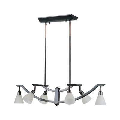 DVI Key West 6 Light Kitchen Island Pendant