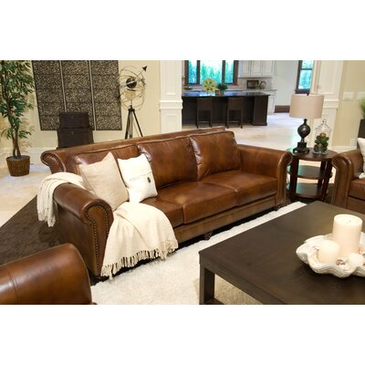 Elements Fine Home Furnishings Paladia Leather Sofa