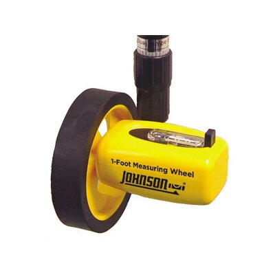 "Johnson Level and Tool 4"" Measuring Wheel"
