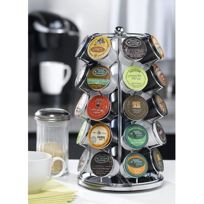 Nifty Home Products Carousel for 35 K-Cups in Chrome