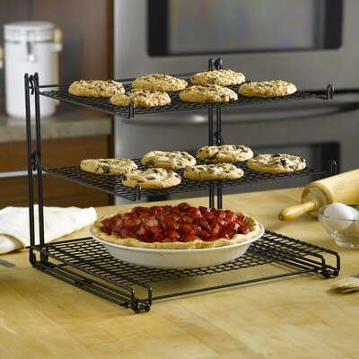 Nifty Home Products Non-Stick Three Tier Cooling Rack
