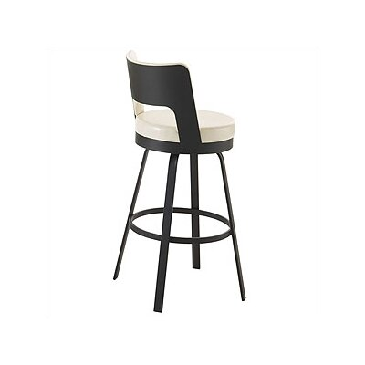 "Amisco Brock 26"" Swivel Counter Stool"
