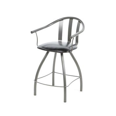 "Amisco Mae 24"" Swivel Counter Stool"