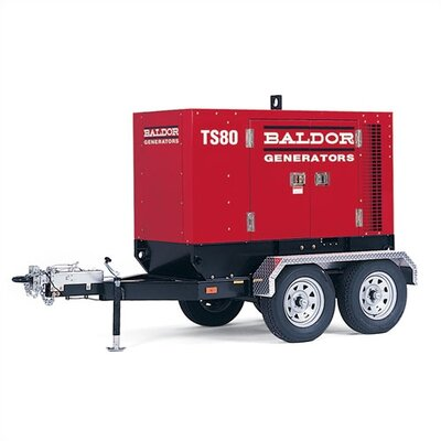 Baldor 49 kW Industrial Standby Towable Generator