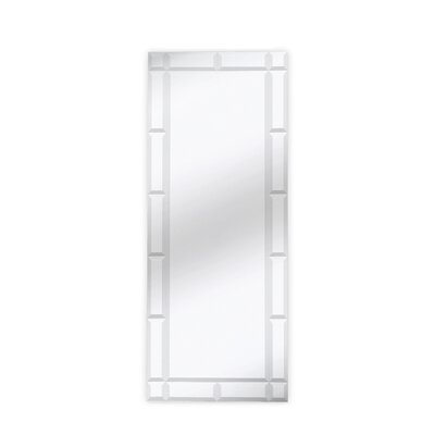 Traditional Rectangle Bevel Wall Mirror
