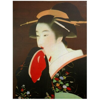 Geisha Canvas Wall Art