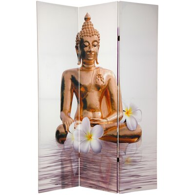 Oriental Furniture Double Sided Thai Buddha Room Divider