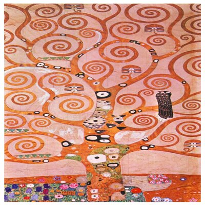 Tree of Life - Works of Klimt Canvas Wall Art - 19.75