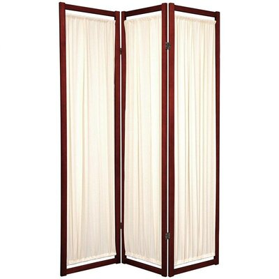 Oriental Furniture Helsinki Shoji Room Divider in Rosewood