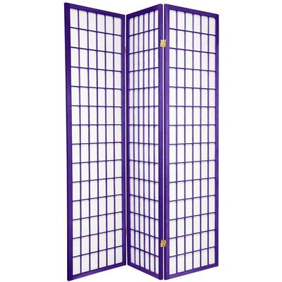 Oriental Furniture Window Pane in Purple