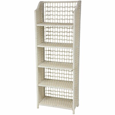 Oriental Furniture Natural Fiber Shelving Unit