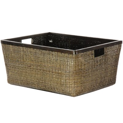 Oriental Furniture Rattan Storage Tote