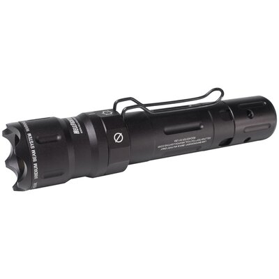 X-12 LED 3.7V Rechargeable Tactical Light with Interrogator Bezel