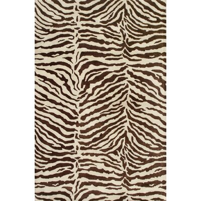 Bashian Rugs Greenwich Ratna with Art Silk Chocolate Rug