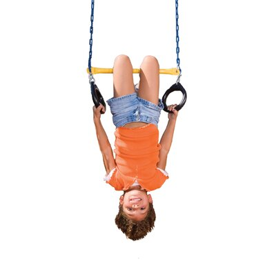Swing-n-Slide Ring/ Trapeze Bar Combo Swing