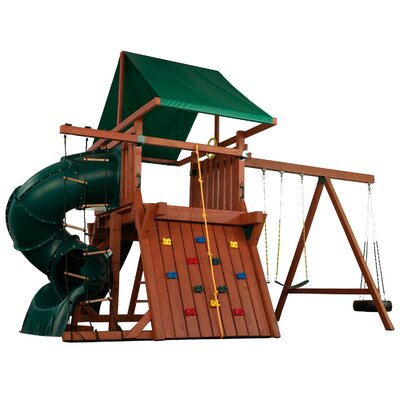 Swing-n-Slide Poseidon Redwood Premier Play Set