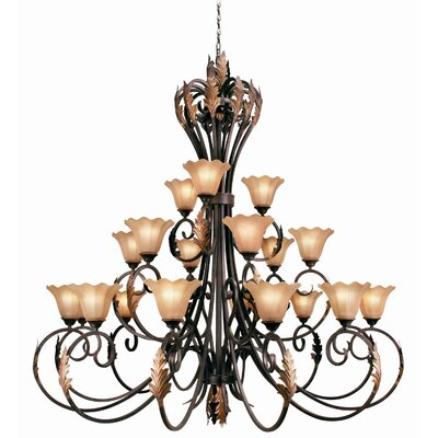 Woodbridge Lighting Harrington 21 Light Chandelier