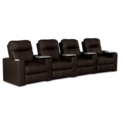 Klaussner Furniture Palace Home Theater Recliner (Row of 4)