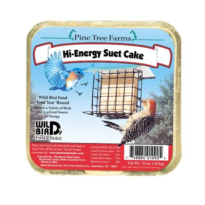 Pine Tree Farms Suet Cake Wild Bird Food