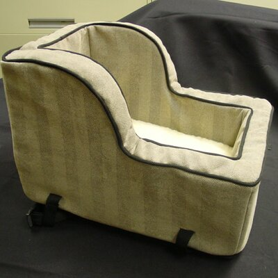 Snoozer Pet Products Large Luxury High-Back Console Pet Car Seat