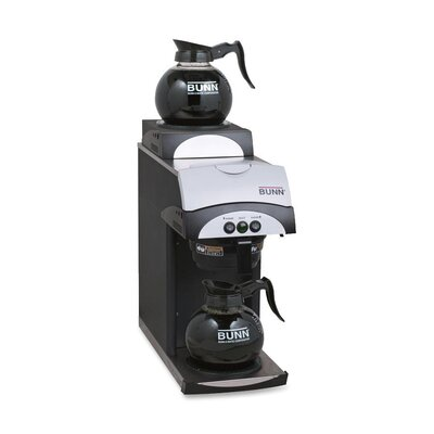 Commercial Coffee Brewer with 2 Warmers