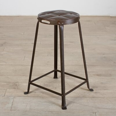 Tufted Top Stool