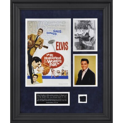 "Mounted Memories Elvis Presley ""It Happened At The World's Fair"" Framed Presentation - 23.5"" x 19.25"""