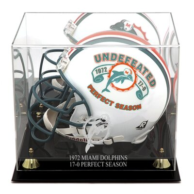 Miami Dolphins 1972 Commemorative Logo Helmet Case