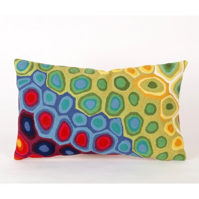 Liora Manne Pop Swirl Rectangle Indoor/Outdoor Pillow in Multi