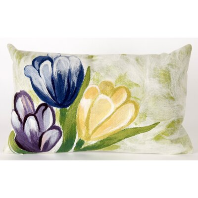 Tulips Rectangle Indoor/Outdoor Pillow