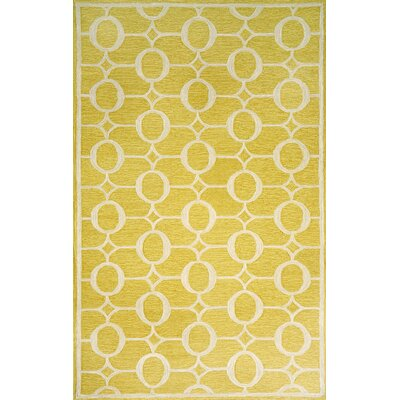 Liora Manne Spello Arabesque Yellow Outdoor Rug