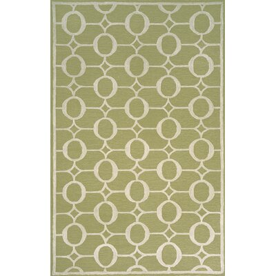 Spello Arabesque Sage Outdoor Rug