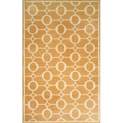 Liora Manne Spello Arabesque Orange Outdoor Rug