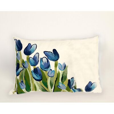 Liora Manne Visions III Allover Tulips Pillow