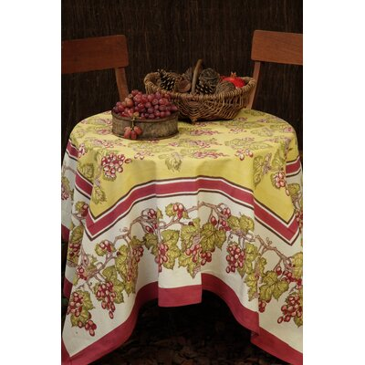 Vineyard Cabernet Tablecloth