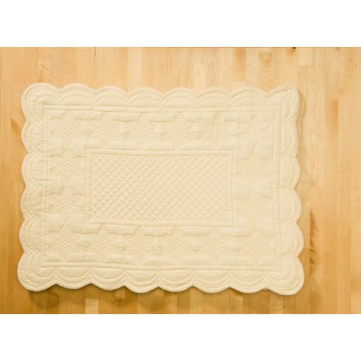 Couleur Nature Sonia Cream Placemat (Set of 6)