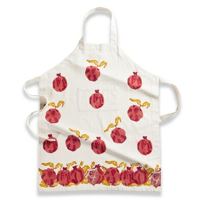 Couleur Nature Pomegranate Yellow Apron