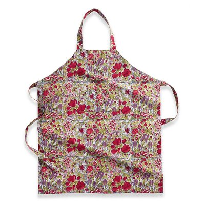 Couleur Nature Jardine Red Grey Apron