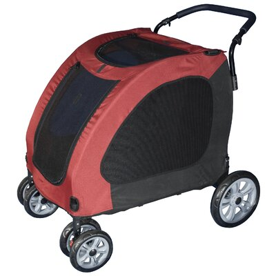 Expedition Pet Stroller in Burgundy