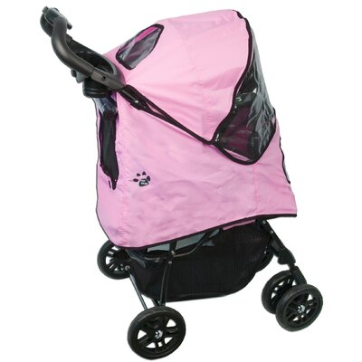 Pet Gear Happy Trails Pet Stroller Plus in Pink