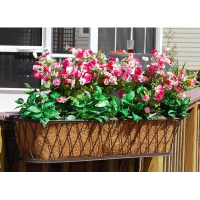 Griffith Creek Designs Barrington Rectangular Window Box Planter