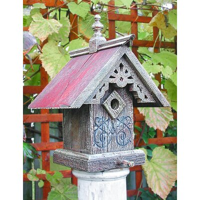Victorian Sunburst Bird House